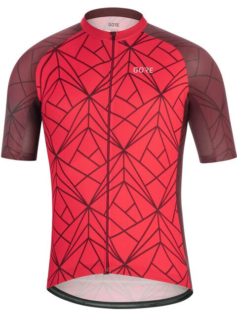 GORE WEAR C3 Jersey Men red/chestnut red